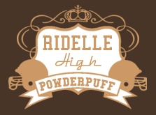 Powderpuff T-shirt design, just customize with your own school name!