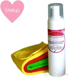 Bubblebubs Foamy Wipes Wash - Chemical free baby wipes this stuff smells amazing and is so easy to use!