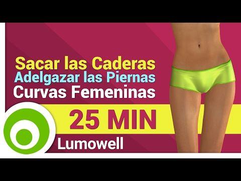 Ejercicios para Cuerpo Reloj de Arena - Reducir la Cintura y Redondear los Glúteos - YouTube
