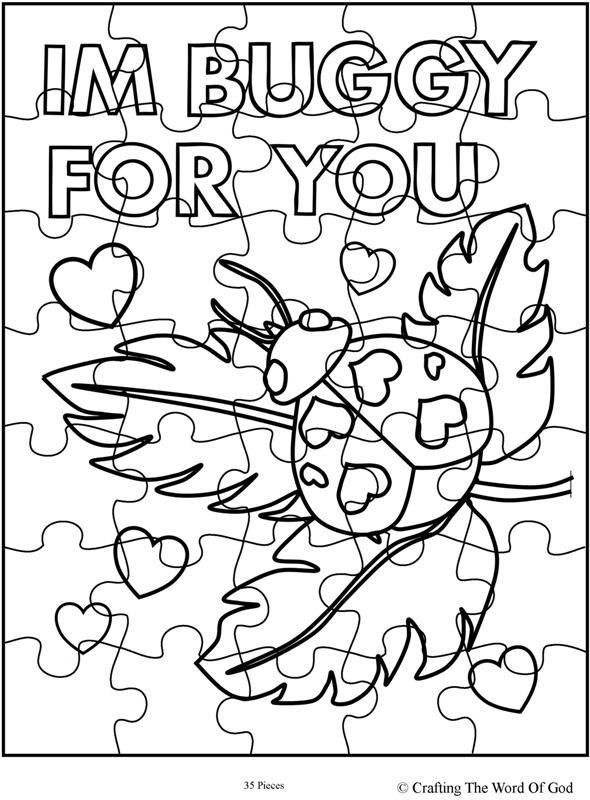 Im Buggy For You Puzzle- Activity Sheet