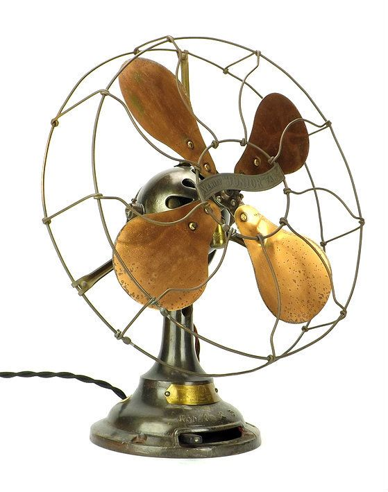 12 Verity Jr Ball Motor Desk Fan C 1910