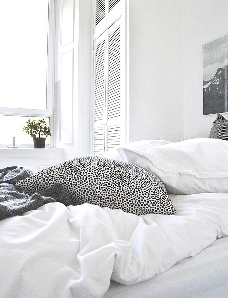 Via Ollie and Sebs Haus | Black and White | Bedroom | Fine Little Day Up Print