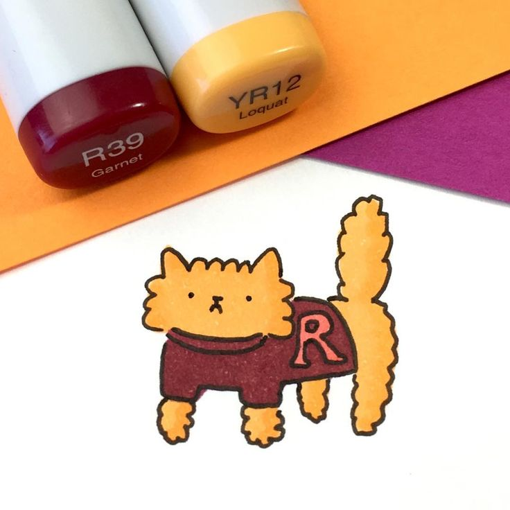 "5,255 vind-ik-leuks, 17 reacties - ⭐️KiraKiraDoodles (@kirakiradoodles) op Instagram: '""I hate maroon!"" ☹️ Ron Meowsley is not very happy with his kitty sweater ⚡️ • • #kawaii…'"