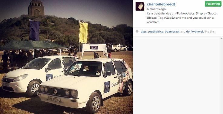 2 #GapSA cars showing face at #ParkAcoustics