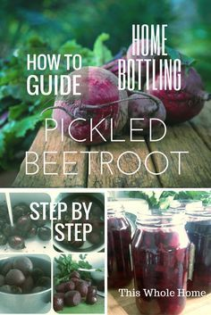How to bottle pickled beetroot