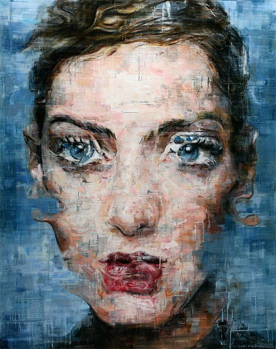 Striking Oil Portraits by Harding Meyer | Inspiration Grid | Design Inspiration