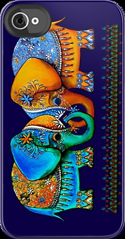 littlest elephant love links, by Karin Taylor, on RedBubble... I LOVE this!