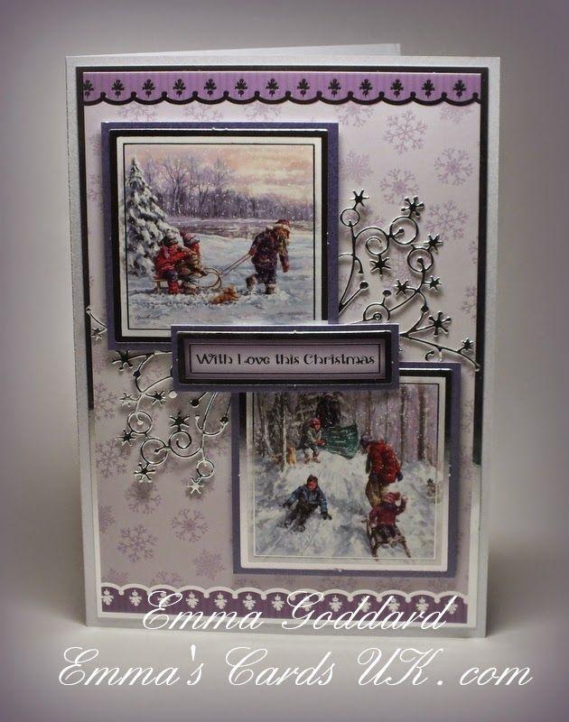 Hunkydory  Christmas 2012                                                                        Memory Box          ...