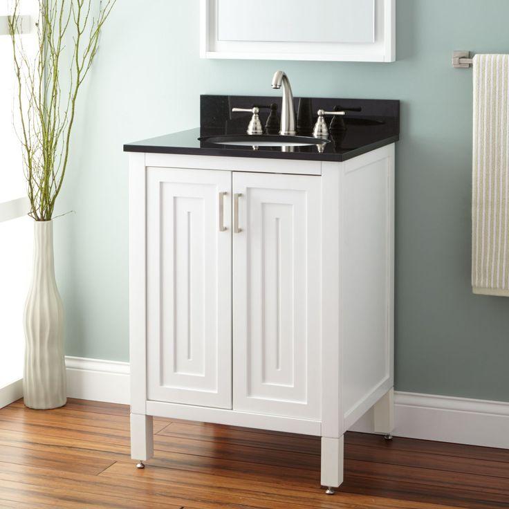 24AudraVanityforUndermountSink White White Bathroom 81 best
