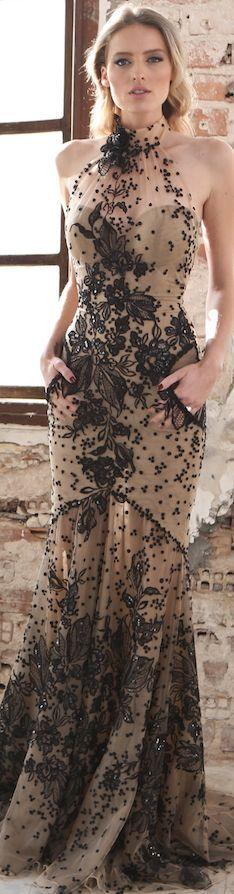 Mint Lace Evening dress
