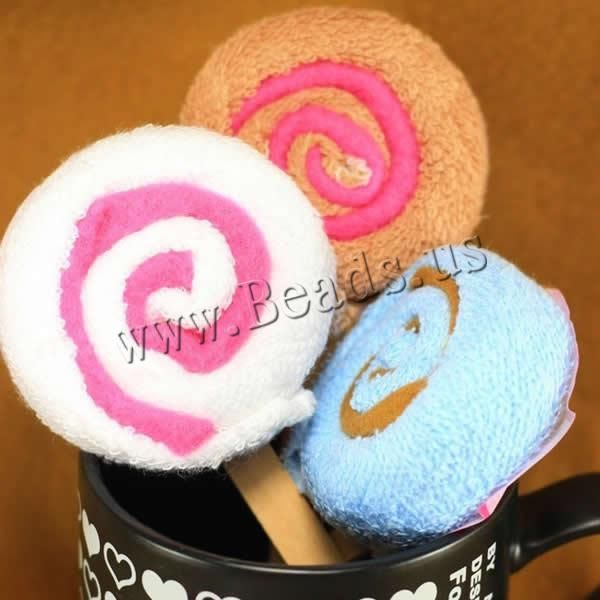 Cotton Towel, with Wood, Candy