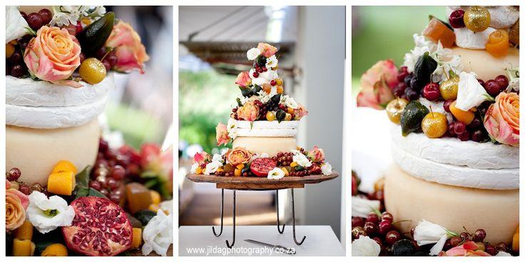 {Robyn & Grant} the most amazing Cheese wedding cake @Annalize Buchanan