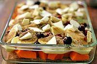 Butternut Squash Apple Cranberry Bake. Substitute gluten free flour (I ...