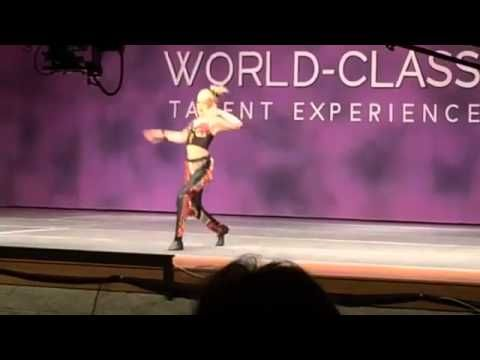 SPOILER! Jojo Siwa - 'Fancy' 1st place junior division 2nd place overall Age 11-12 1st place Elite Gold award in overalls