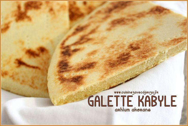 Galette kabyle arhlum