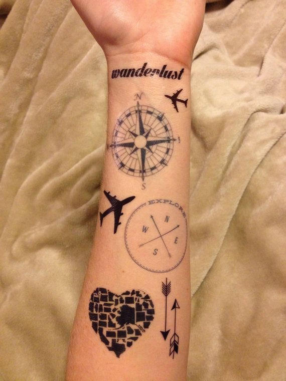 56 best Travel Tattoo Inspiration images on Pinterest