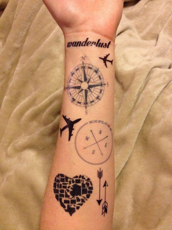 55 Best Travel Tattoo Inspiration Images On Pinterest