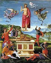 La resurrección de Cristo, conocida también como Resurrección Kinnaird por haber formado parte de la colección de Lord Arthur Fitzgerald Kinnairdrthshire, es una pintura al óleo sobre tabla atribuida al maestro del renacimiento italiano Rafael Sanzio. Es, posiblemente, una de las primeras obras del artista, hecha entre 1499 y 1502 en pequeño formato (52 cm x 44 cm). Es probable que sea uno de los elementos de una predela que podría haber formado parte del Retablo Baronci, primer encargo…