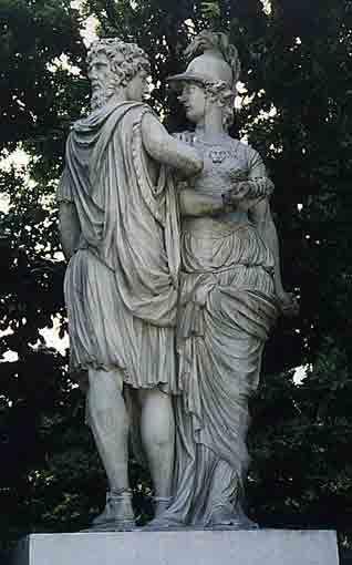 Αθηνά και Ιανός Ανάκτορο Σένμπρουν - Βιένη