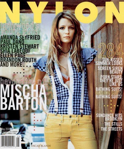 Mischa Barton, Nylon Magazine