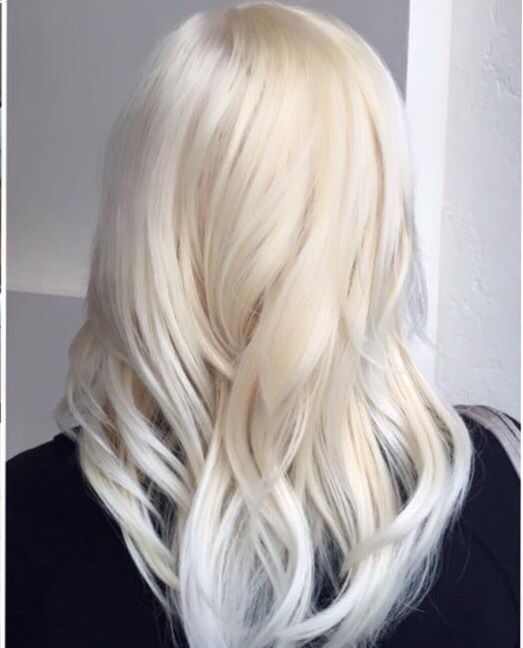Colored Platinum: Aveda Platinum Blonde.