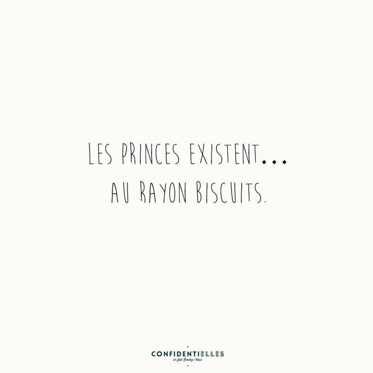 Les princes existent ... Au rayon biscuits