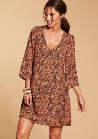 Rozšírené šaty s potlačou #dress #style #boho #festival #fashion #modino_sk #modino_style