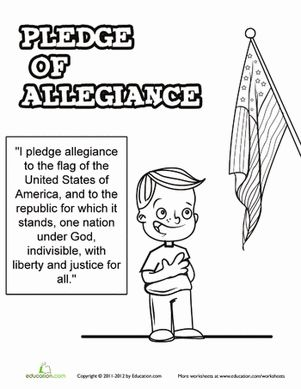 Best 25 Pledge of allegiance ideas on Pinterest Pledge of