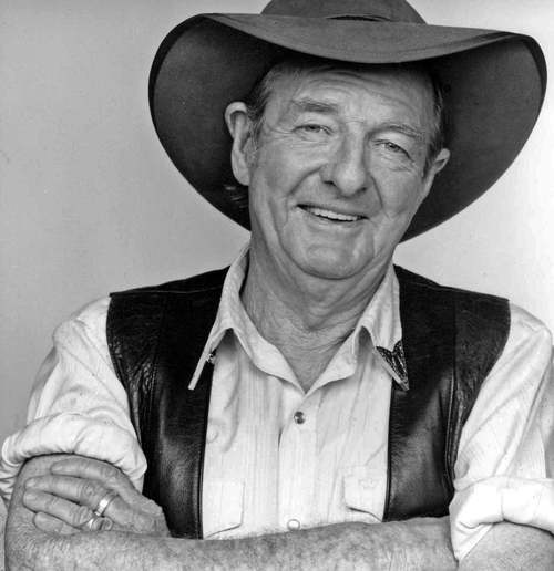 The late Slim Dusty. RIP