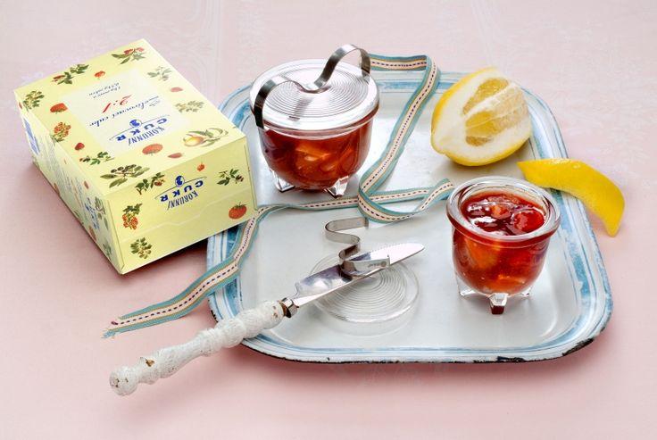 www.korunnicukr.cz- Jahodová marmeláda s citrony