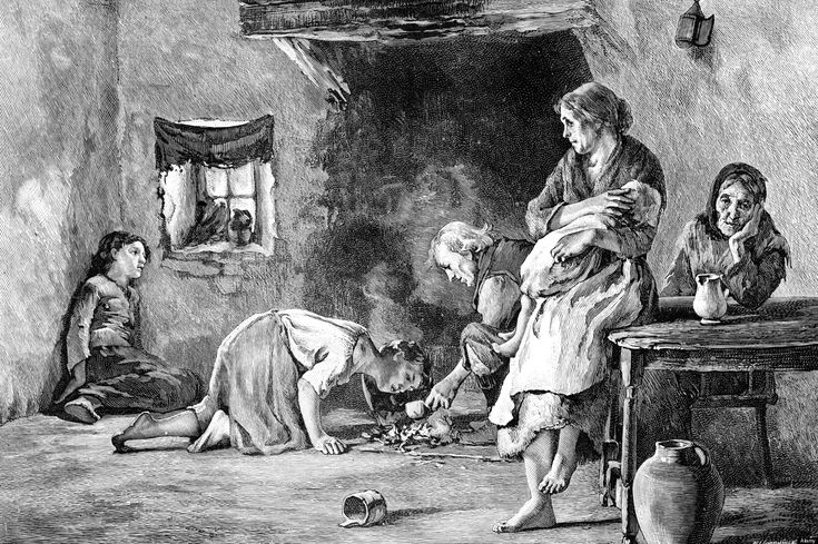 "Cause Of Great Potato Famine revealed/More than 1 million died between 1845-1854 causing 1 million to emigrate & fueling tension between Irish Catholics & Protestants. Now DNA sequencing of dried leafs of the ""Irish lumper"" potato, the genome of the organism causing the blight has been  found to be a single strain of a fungus like pathogen Phytophthora infestus.    May 24, 2013"