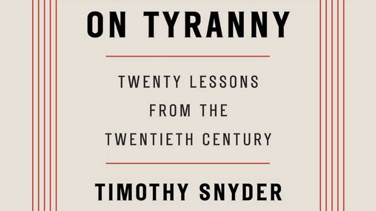On Tyranny: Yale Historian Timothy Snyder on How the U.S. Can Avoid Sliding into Authoritarianism | Democracy Now!
