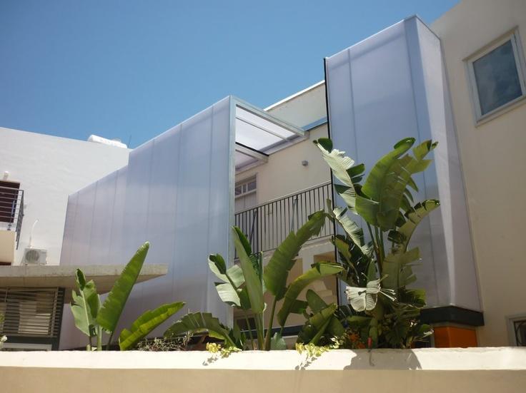 paphos sliding facade