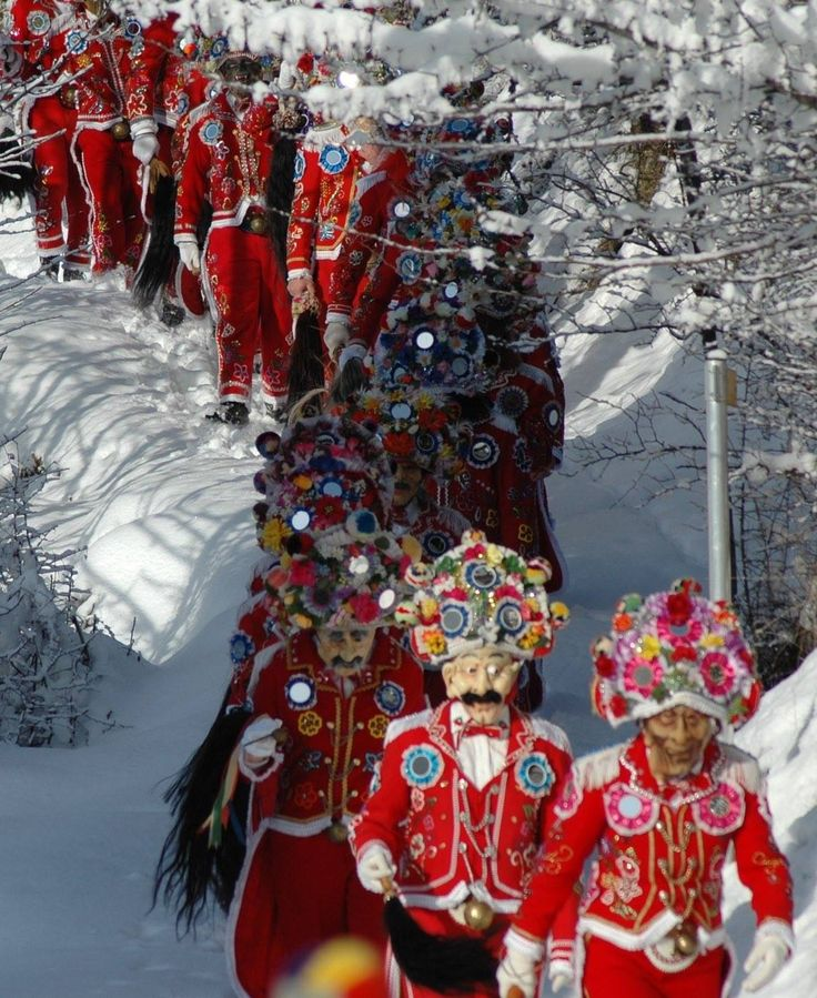 Il Carnevale della Coumbia Freida ha luogo dal 5 al 9