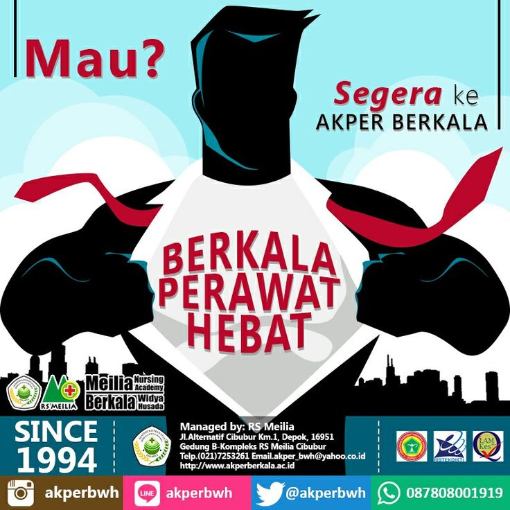 Perawat HEBAT di AKADEMI Terbaik hanya di AKPER BERKALA • • #akper #akademi #keperawatan #akperberkala #cibubur #depok #cileungsi #bekasi #bogor #tangerang #jakarta #indonesia #mahasiswa #kampus #kuliah #perawat #nakes #nurse #profesi