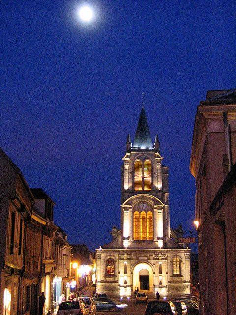 Eglise St-Pierre, Montfort l'Amaury, Yvelines, France