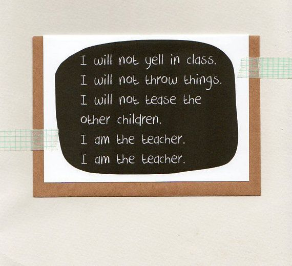 RESPECT to the TEACHER . teacher thank you card by ThePaisleyFive