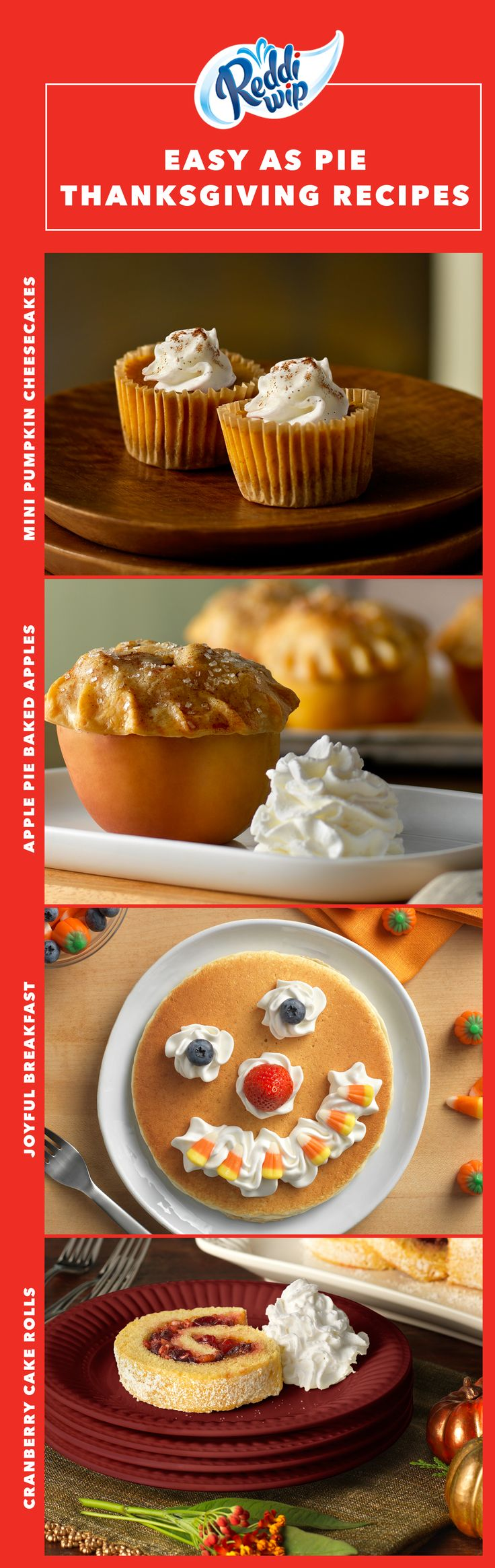 Fall is officially in full-swing and that means a whole lotta' pumpkins and a whole lotta' spice. This Thanksgiving, keep it nice and simple with these deliciously uncomplicated seasonal favorites they'll gobble up in no time!
