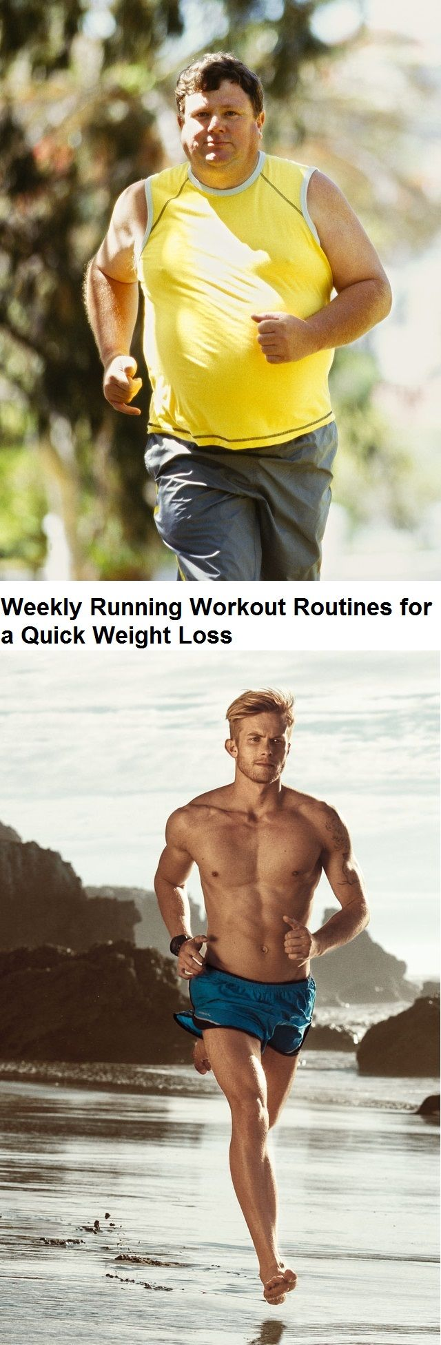 Running Weight Loss Routines
