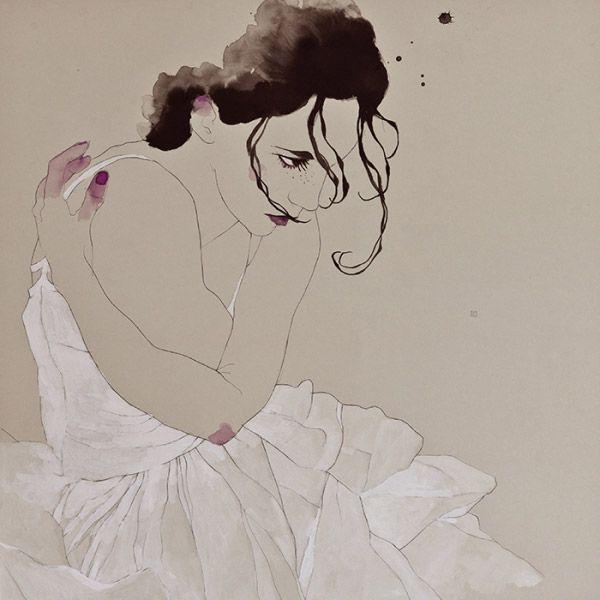 Watercolor Illustration by Barcelona-based artist Conrad Roset. |