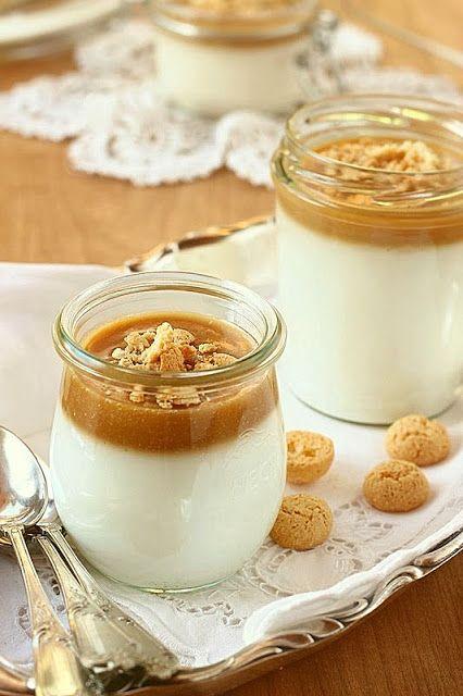 Ez aztán az igazi olasz édesség. Habár a mandulatejet és a karamellt házilag is elkészíthetjü...