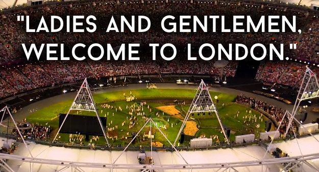 35 Times You Totally Lost Your Shit Watching The London 2012 Opening Ceremony