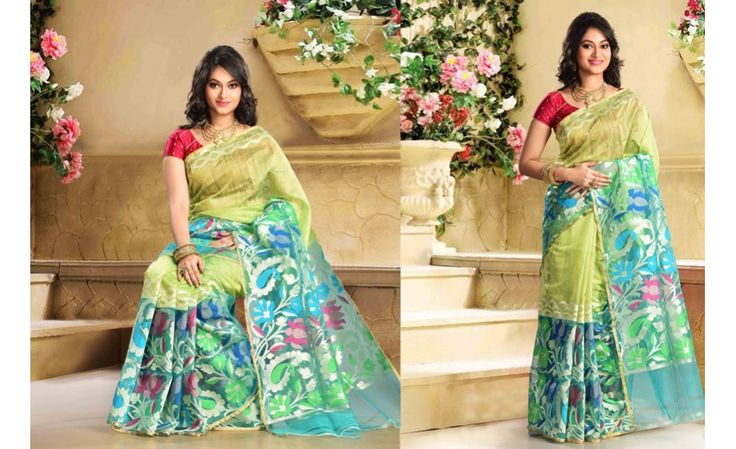 Designer Tisue Silk Saree