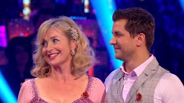 BBC weather presenter Carol Kirkwood can hang up her Strictly dancing shoes as she has become the latest celebrity to be booted off the show