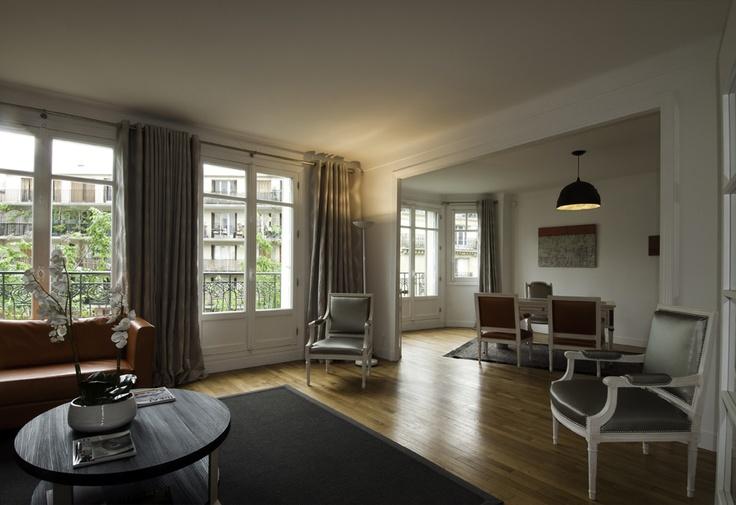 Boulevard Morland (Living room) - Paris