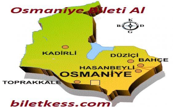Osmaniye Otobüs Biletleri