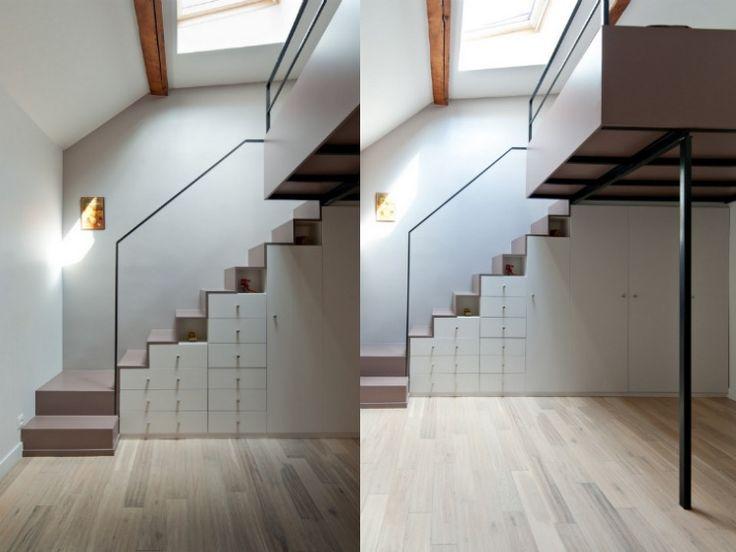 ber ideen zu stauraum unter der treppe auf pinterest schrank unter der treppe treppe. Black Bedroom Furniture Sets. Home Design Ideas