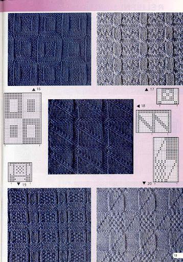 Burda 2003 1 E682 Nejkrásnější vzory - Isabela - Knitting 2 - Álbumes web de…