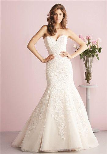 28 best Allure Bridal Gowns images on Pinterest   Wedding dressses ...