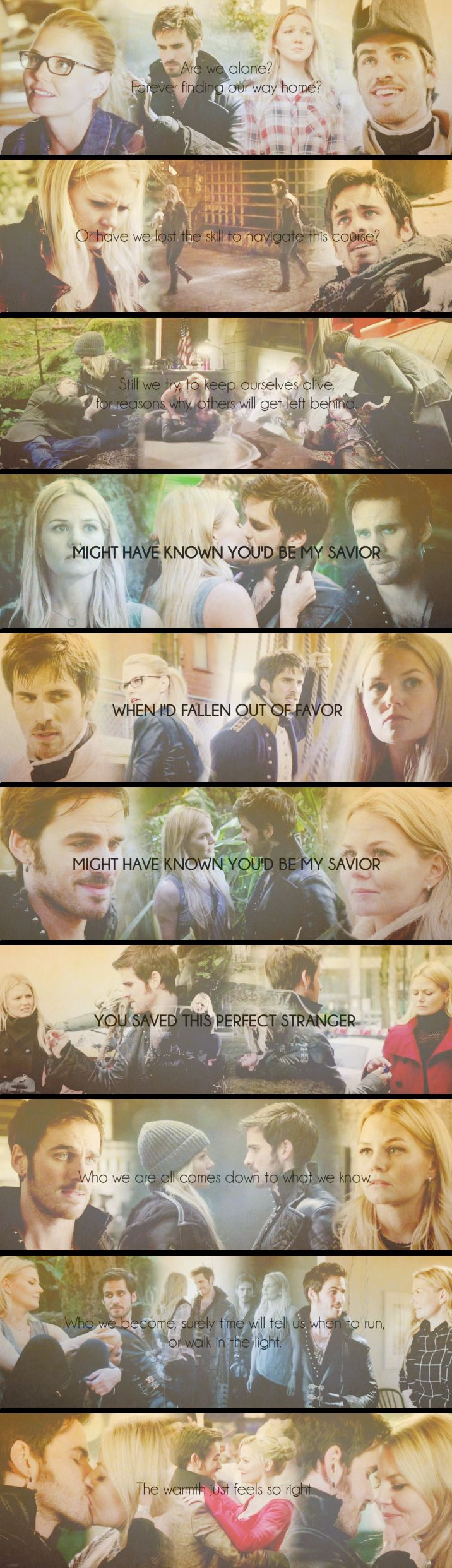 Captain Swan - The two missing pieces of a puzzle.